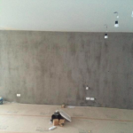Fitzroy, concrete finished
