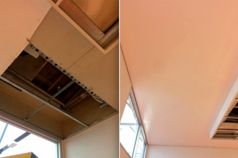 Tuscany Services is Commercial Plastering